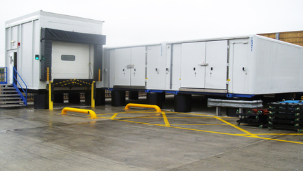 Cold store,Blast freezer, Loading docks