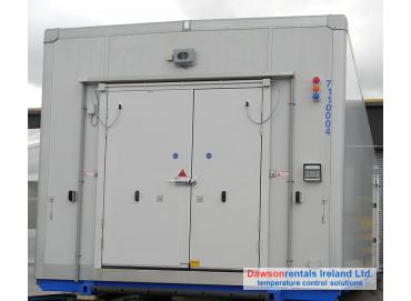 100kW Giga Blast Freezer / Chiller 31 Pallets capacity