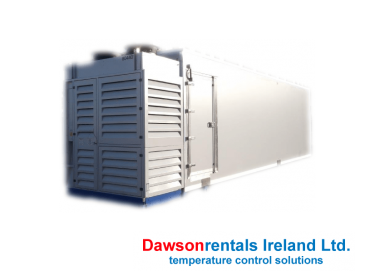 Short 50kW Blast Freezer / Chiller 10 Pallets capacity