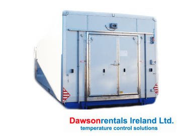 60kW Mega Blast Freezer / Chiller 31 Pallets capacity