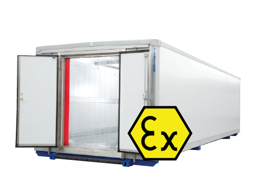 ATEX compliant storage rooms