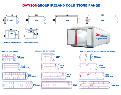 Cold store units from Dawsongroup Ireland