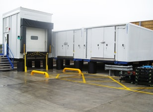 Loading Dock on Tempering unit, Cold Storage, Blast Freezers